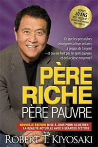 Couverture du livre Père riche Père pauvre de Robert Kiyosaki
